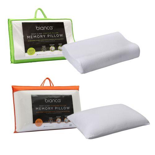 Memory Foam Standard Pillow by Bianca