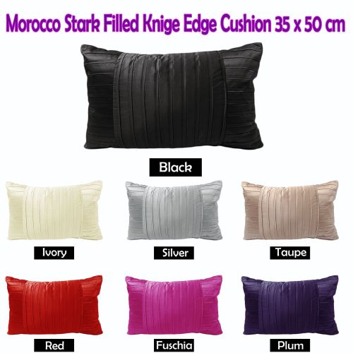 Morocco Stark Oblong Cushion 35cm x 50cm