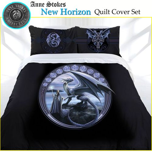 New Horizon Quilt Cover Set by Anne Stokes