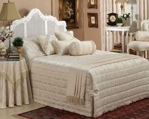 Nottingham Royal Beige Bedspread by Bianca