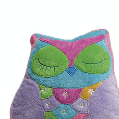 Owl Song Owl Shape Filled Cushion by Jiggle & Giggle