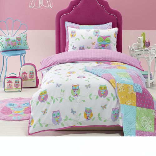 Owl Song Quilt Cover Set Jiggle & Giggle