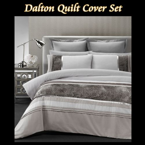 Dalton Quilt Cover Set Single by Phase 2