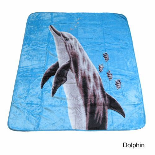 500gsm Photo Print Mink Blanket Queen by IDC Homewares