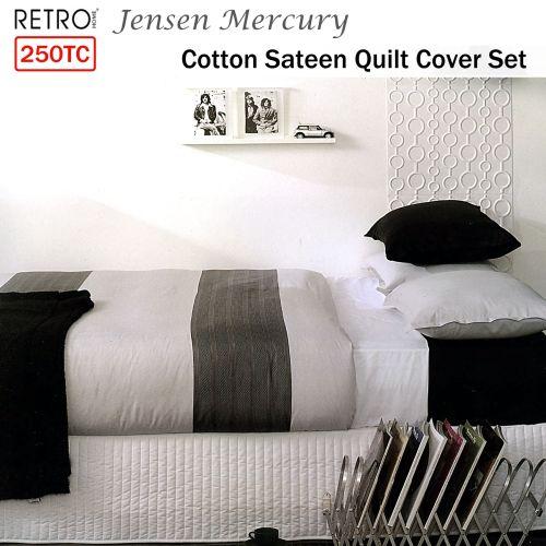 Jensen Quilt Cover Set by Ardor