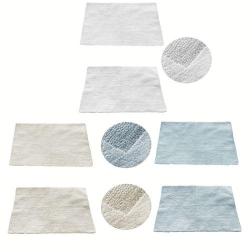 1 Piece of Reversible Cotton Bath Mat 55 x 85cm