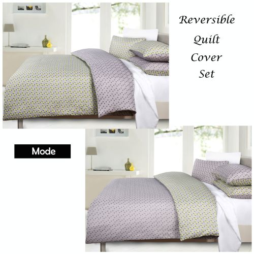 Mode Reversible Quilt Cover Set