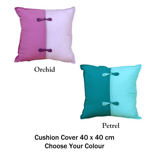 Scrunchie Petrel Cushion Cover by Phase 2