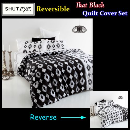 Ikat Quilt Cover Set by Shuteye