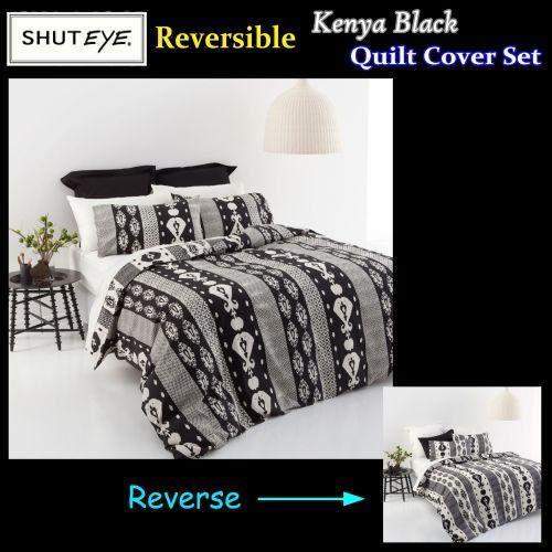 Kenya Quilt Cover Set by Shuteye