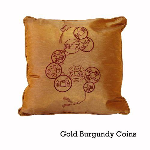 Silk Road 45x45 cm Filled Square Cushion