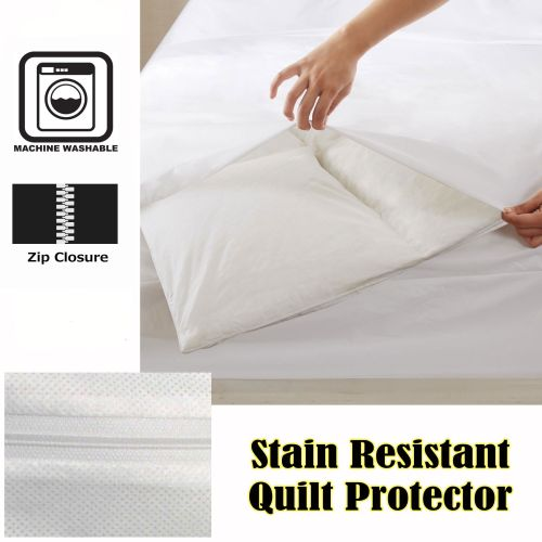 Stain Resistant Quilt Protector
