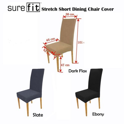 Stretchable Dining Chair Cover by Surefit