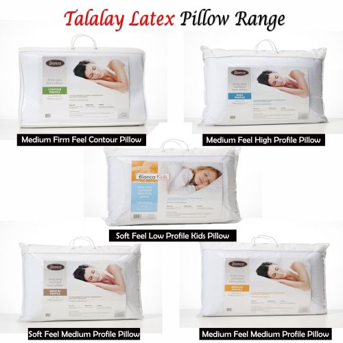 Talalay Latex Pillow by Bianca