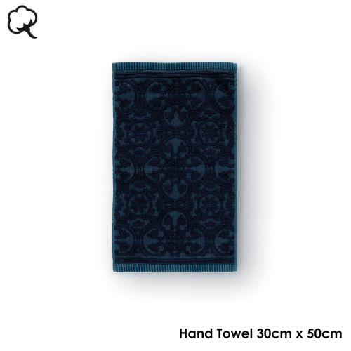 Tile de Pip Dark Blue Towel or Wash Mitt by PIP Studio