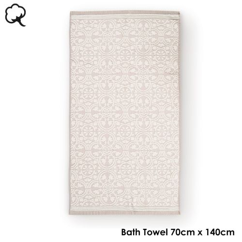 Tile de Pip Khaki Towel or Wash Mitt by PIP Studio