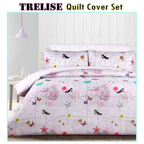 180TC Trelise Quilt Cover Set by Big Sleep