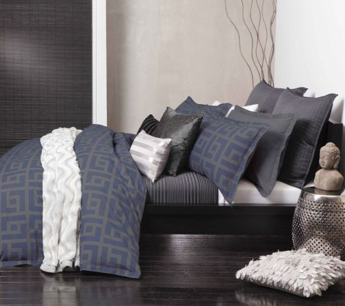 Tyson Navy Quilt Cover Set
