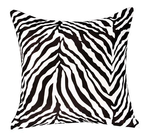 Zebra Printed Cushion Cover